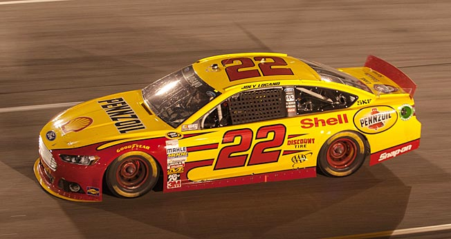 Joey Logano allegedly benefited from an in-race deal his Penske Racing cut with another team.