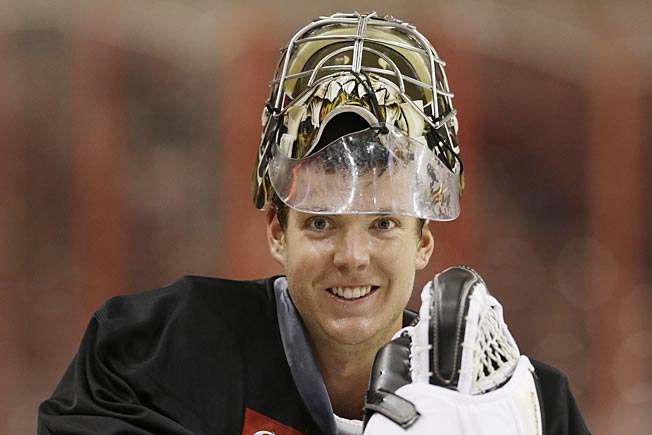Steve Mason hopes to rediscover his Calder Trophy-winning form in the heat of Philadelphia.