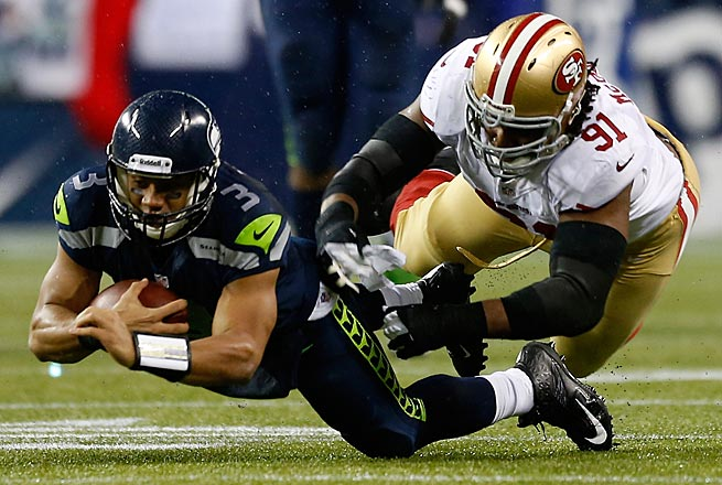 Russell Wilson will try to lead his Seahawks to a second consecutive victory over San Francisco in Seattle.