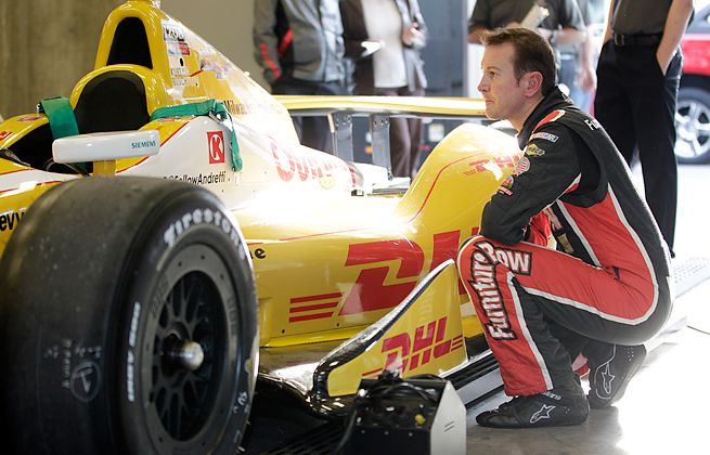 Kurt Busch and his Andretti team missed the deadline to ask for an engine to race at Fontana.