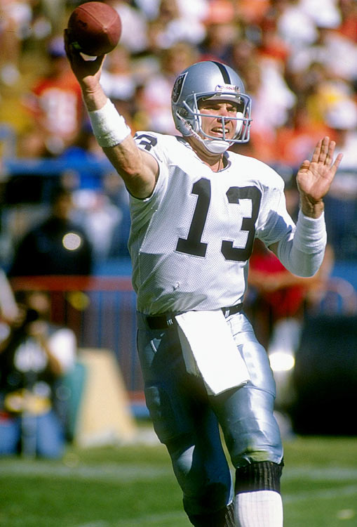 The Broncos started the Monday Night Football game with 24 straight points, but the Los Angeles Raiders pulled out an overtime win. Jay Schroeder hit Steve Smith for two long touchdowns in the third quarter to start the Raiders' comeback. The Raiders had also overcome a 24-point deficit against San Diego in 1982.