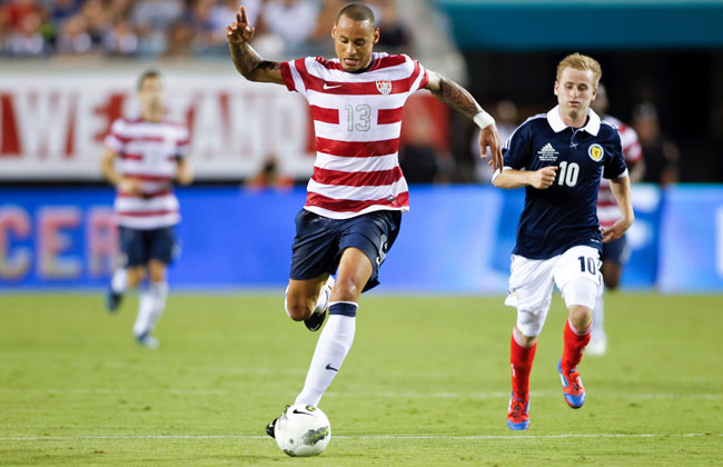 The U.S. defeated Scotland 5-1 when the two teams met in Jacksonville last year.