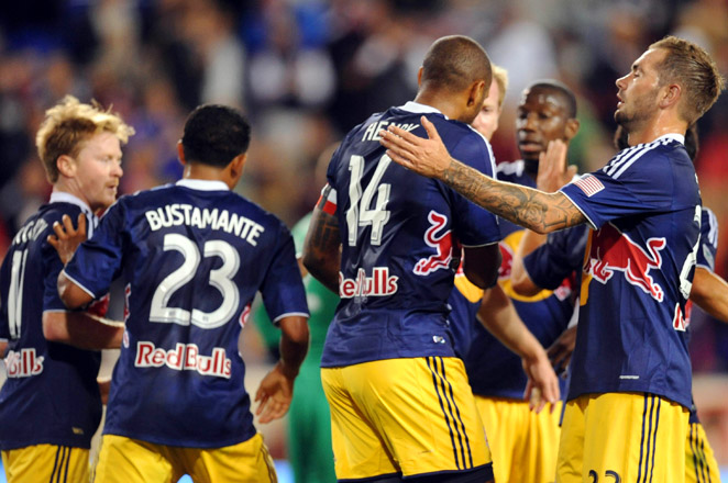 The Red Bulls now take over sole possession of first place in the MLS Eastern Conference standings.