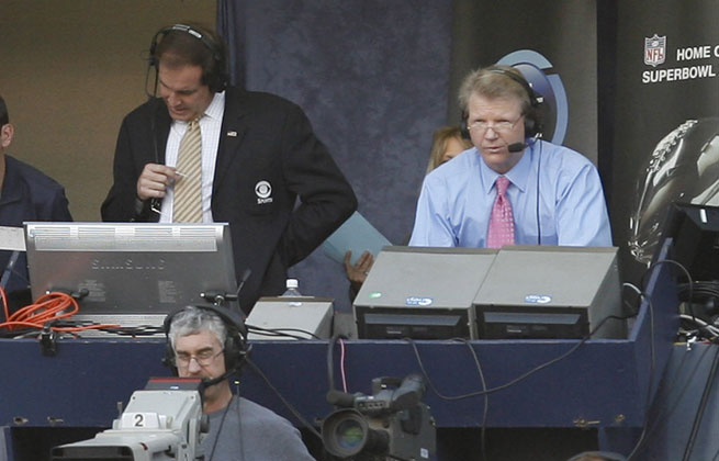 No. 1 NFL on CBS team Jim Nantz (left) and Phil Simms have grown stale to many of our panelists.