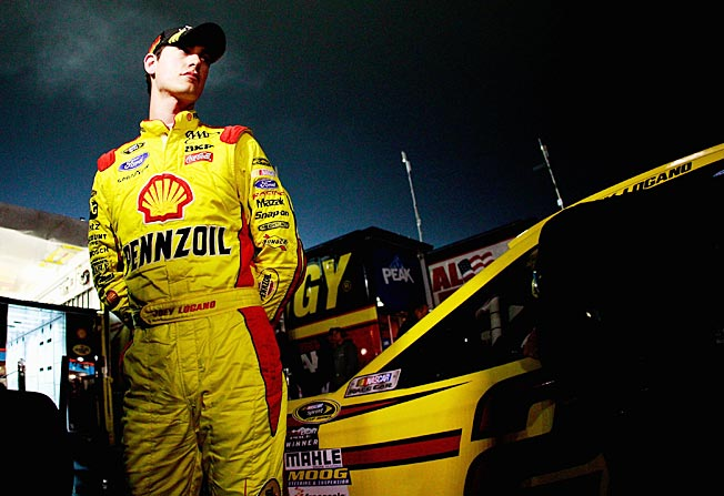 It was a dark and stormy night; Joey Logano was already under a cloud before his aborted Chase opener.
