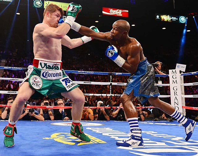 The inimitable Mayweather claimed win No. 45 -- along with a check for $41.5 million -- with another lopsided victory, this time over Saul Alvarez on September 14. Facing a younger, bigger opponent, Mayweather was masterful, showcasing his trademark elusiveness and connecting on more jabs (138) than in either of his previous two fights. Mayweather says he will return to the ring in May, with the most likely challengers being unified junior welterweight champion Danny Garcia or popular Brit Amir Khan. <italics>All records through Sept. 15</italics>