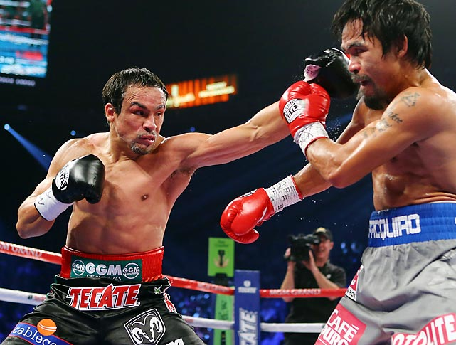 Marquez, idle since his stunning knockout of Manny Pacquiao last December, is scheduled to return in November against Tim Bradley. Despite turning 40 in August, Marquez has shown no signs of slowing down. A win over Bradley could set up a lucrative fifth fight with Pacquiao in 2014. <italics>All records through Sept. 15</italics>