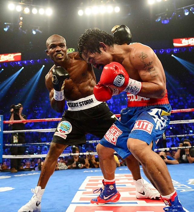 Say what you want about Bradley-Pacquiao, but Bradley now officially owns wins over Pacquiao, Marquez and Devon Alexander and was in a Fight of the Year candidate against Ruslan Provodnikov. Bradley made a guaranteed $4.1 million to fight Marquez and is in line for another big payday against Pacquiao, Brandon Rios or Mike Alvarado sometime next year. All records through Nov. 25