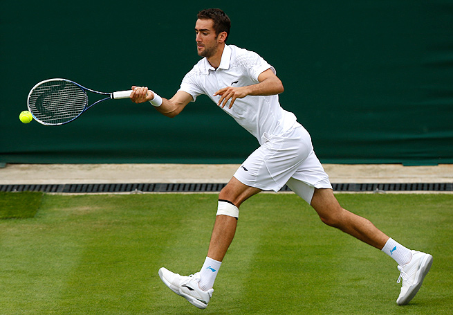 Marin Cilic, who hasn't played since withdrawing in the second round at Wimbledon, tested positive for nikethamide.