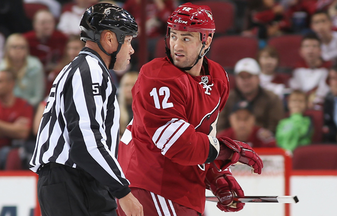 Paul Bissonnette will miss the start the season after joining a fight in a Coyotes' preseason game.