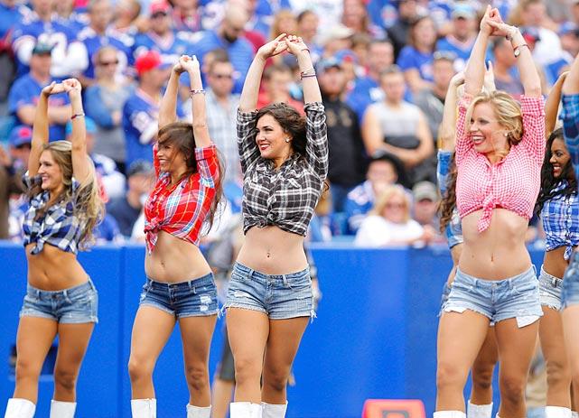 Apologise, but Buffalo bills cheerleaders think, that