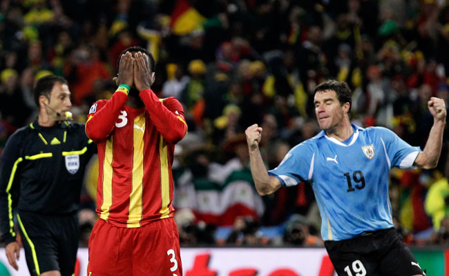 Ghana's loss to Uruguay was one of the most memorable matches of the 2010 World Cup.