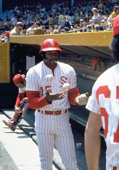 During his MVP season with the White Sox, Dick Allen casually smokes a cigarette and juggles baseballs, giving impressionable young kids a clear blueprint for what they need to do to one day become the best power hitter in baseball.