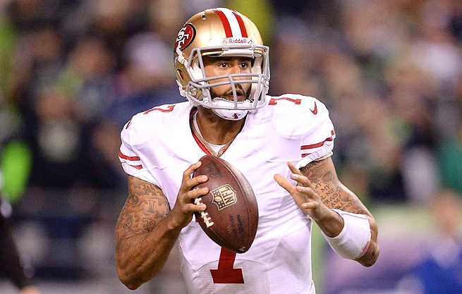 Colin Kaepernick struggled against the Seahawks in Week 2, but he should rebound against the Colts, even with their trade for running back Trent Richardson.