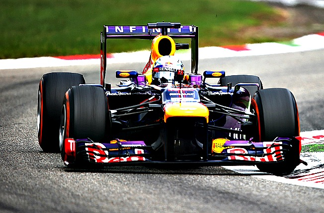 Sebastian Vettel is solidly on track for his fourth Formula One championship.