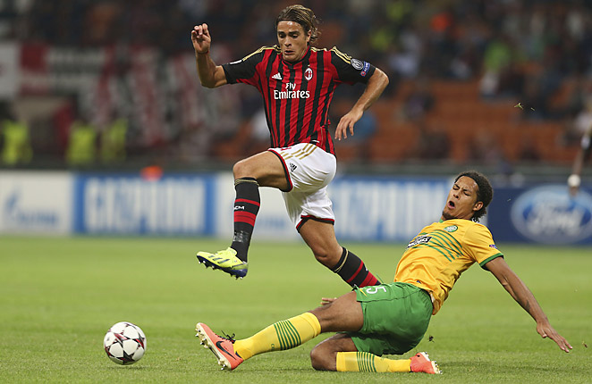 Alessandro Matri and AC Milan were able to pull out a 2-0 result against Celtic at the San Siro.