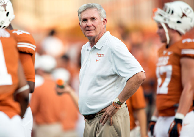 Texas hasn't reached 10 wins under Mack Brown since losing the BCS title game after the 2009 season.