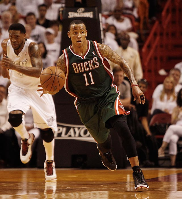 Ellis left the Bucks to sign with the Mavericks in the offseason.