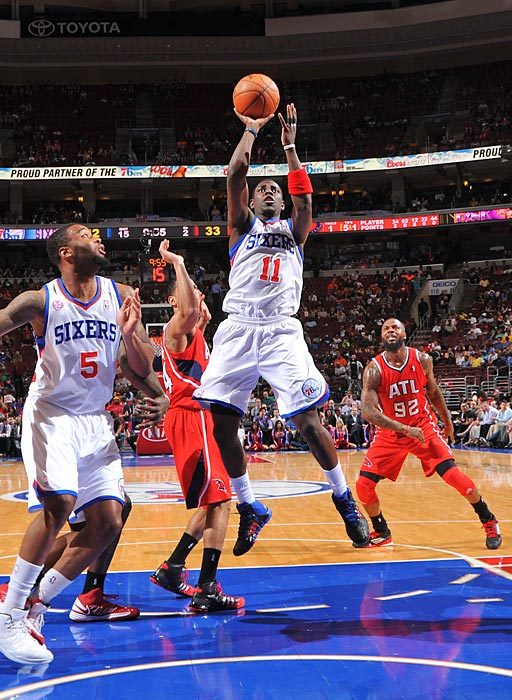 Holiday was traded to the Pelicans from the 76ers in the offseason.