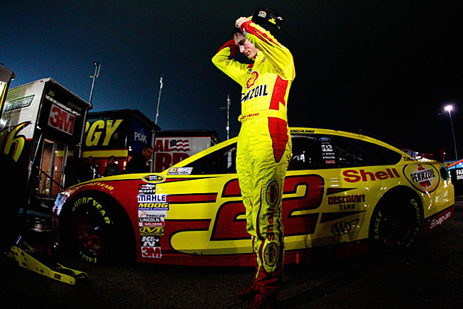 Joey Logano's championship hopes came to a screeching halt last weekend in Chicago.