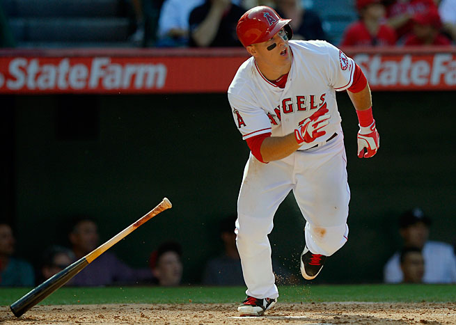 Mike Trout has combined power and speed in a way no young player ever has before.