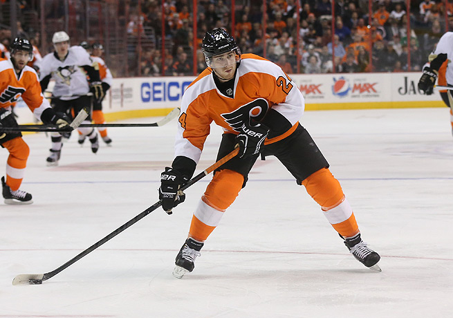Matt Read has accumulated 71 points over two years spent with the Flyers.