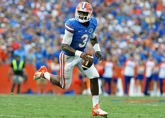 After replacing injured QB Jeff Driskel, Tyler Murphy piloted Florida's offense in a win over Tennessee.