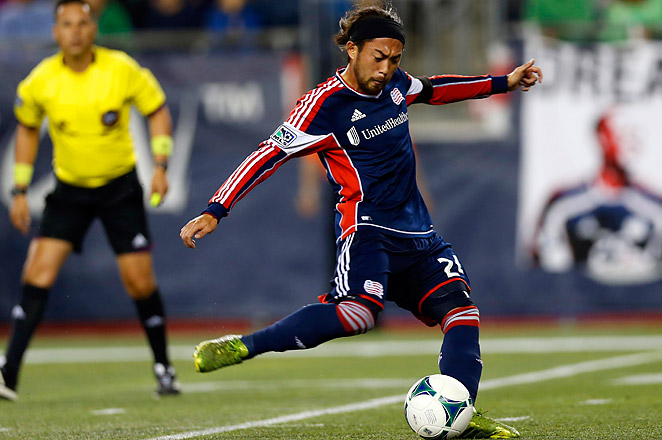 New England snapped a winless three-match streak when Lee Nguyen converted his second penalty kick.