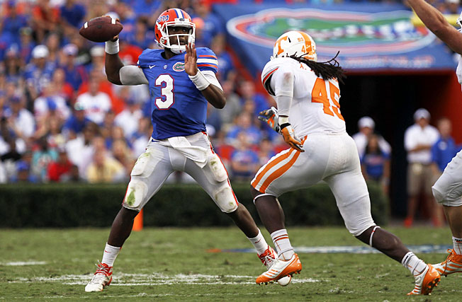 After replacing injured quarterback Jeff Driskel, Tyler Murphy led Florida to a 31-17 win over Tennessee.