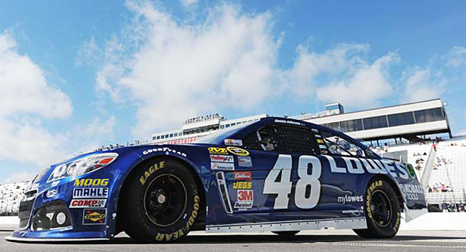 Jimmie Johnson is within striking distance of Chase leader Matt Kenseth with JJ's best tracks on tap.