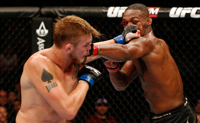 Alexander Gustafsson (left) is patiently waiting for what he hopes will be a rematch with Jon Jones.