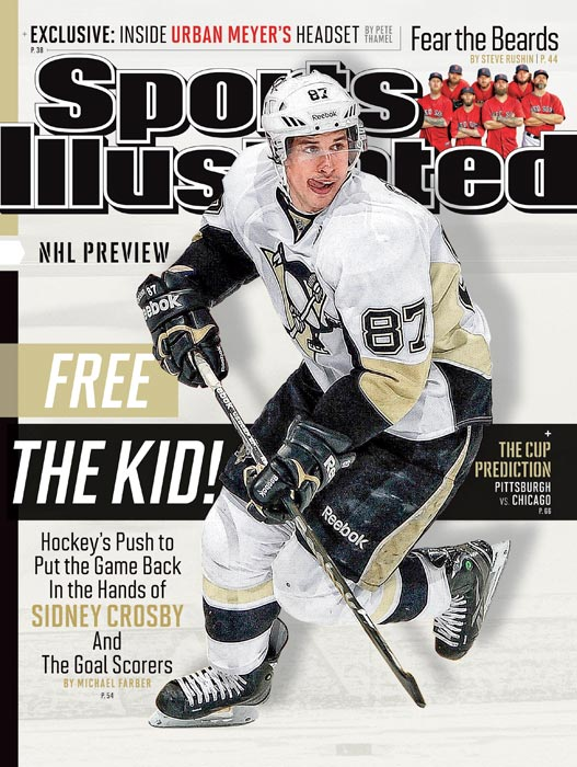 The Pittsburgh Penguins' superstar captain, who graces the regional cover of this week's SI, is healthy again after three injury-marred seasons and a contender for his second Art Ross Trophy. No doubt the league, which is working to give fans more of what they want -- scoring -- won't mind if its marquee star lights the goal lamp as frequently as possible. You can also expect Crosby's rivalry with Washington's Alex Ovechkin, the reigning MVP, will be kicked up a notch now that the Penguins and Capitals inhabit the new Metropolitan Division. Another order of business: Can Crosby's talent-laden Penguins rebound from last season's playoff disappointment and win the second Stanley Cup of his career? That's just one of the questions our experts address in SI's season preview.