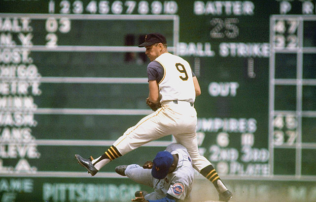Second baseman Bill Mazeroski was a seven-time all-star and eight-time Gold Glove winner.