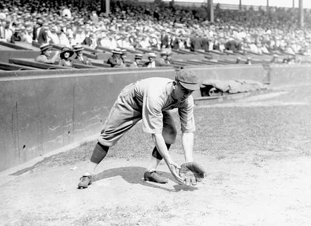 At the time of his retirement in 1935, shortstop Rabbit Maranville had played in a record 23 seasons in the National League, a mark which wasn't broken until 1986 by Pete Rose.
