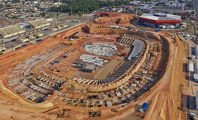 Manaus' World Cup stadium is expected to fall into disuse after the 2014 tournament.
