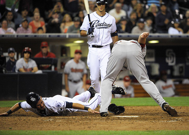 The Diamondbacks eventually beat the Padres after 12 long innings on Tuesday night.