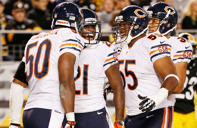 The 3-0 Bears are leaning on their defense, which leads the NFL with 11 total takeaways.
