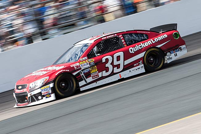 Ryan Newman's sponsor is impressed by how well he's handled a rough racing season.