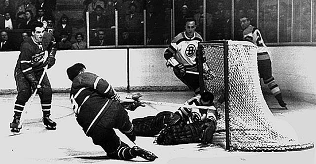 "The Habs of the mid 1950s were so potent that their power play inspired a rule change. On Nov. 5, 1955, Jean Beliveau scored three goals in 44 seconds with the man advantage against the Bruins, leading the NHL to decree that a penalized player could now return to the ice once the team on a power play had scored. The ruling became known as ""The Canadiens Rule."" Another edition of the Habs set the NHL mark for single-game scoring by one team when they hit the back of the net 16 times in routing the hapless Quebec Bulldogs on March 3, 1920."