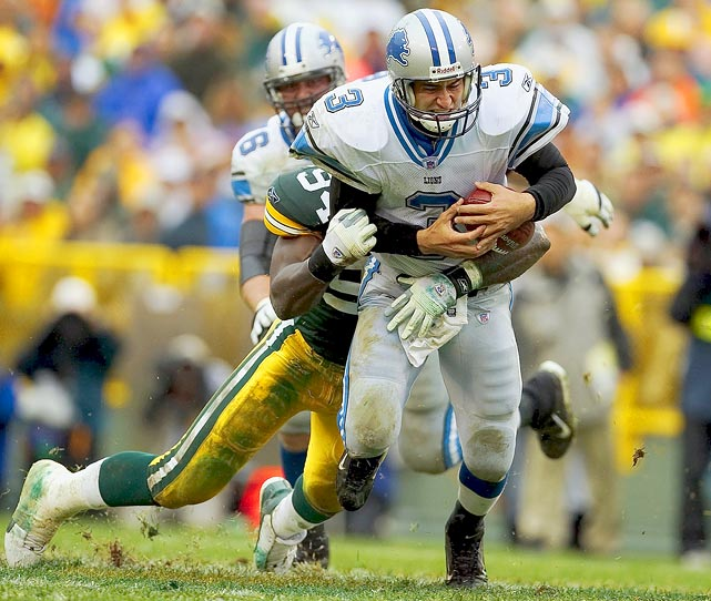 Harrington kicked off a decade of mostly terrible first-round picks for the Lions. Detroit selected him third overall out of Oregon in 2002, hoping for some of the magic he used to guide his college teams to a 25-3 record and become a Heisman finalist. He brought none. Instead, he threw 62 interceptions against 60 touchdowns, never completed more than 57% of his passes and went 18-37 as a starter. Harrington also had brief stints with the Dolphins and Falcons before he hung up his cleats for good.