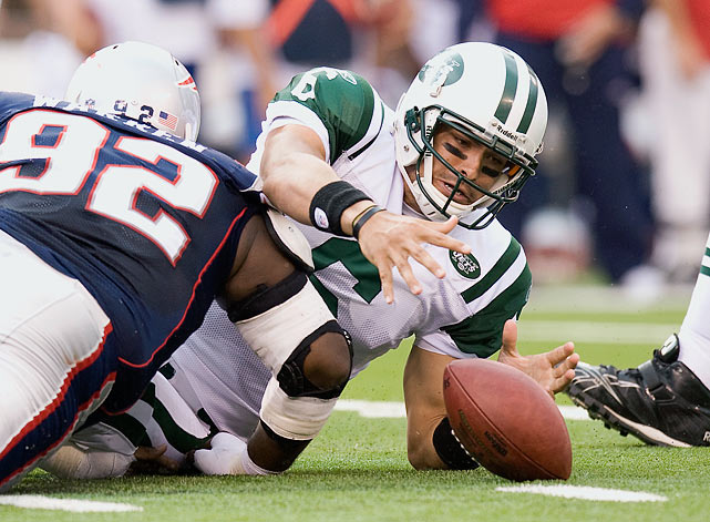 Sanchez experienced some immediate pro success, playing in AFC Championship games in each of his first two seasons with the Jets. Since then, the team has struggled and fan support for Sanchez has all but disappeared. After he injured his shoulder in the 2013 preseason, the Jets turned the ball over to rookie Geno Smith, making it likely that Sanchez has started his last game in New York. Although his teams have done well, Sanchez himself has played poorly, throwing fewer touchdowns (68) than interceptions (69) and completing a paltry 55.1% of his passes.