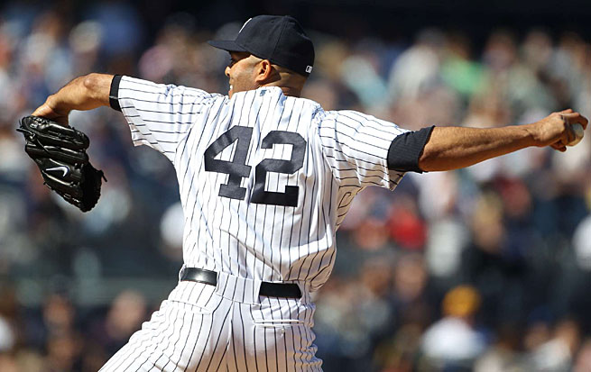 Mariano Rivera, the all-time saves leader, will be the last major leaguer to regularly wear No. 42.