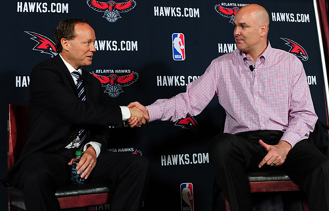Mike Budenholzer was a Spurs assistant for 19 years before Danny ferry hired him as the Hawks' coach.