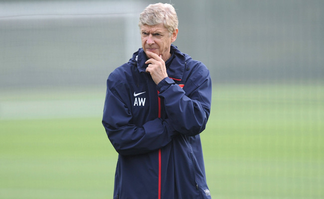 Arsene Wenger's contract with Arsenal expires before next season.