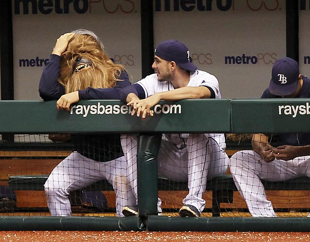 The Rays hurler was in dire need of a shave and a haircut by the time his team finally trimmed Baltimore's pesky Birds in the 18th inning at Tropicana Field.