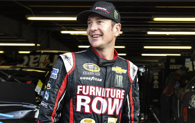 Kurt Busch will have four new pit crew members on Sunday.