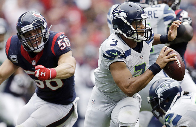 Russell Wilson has underperformed statistically and faces another stiff test on the road in Week 5.