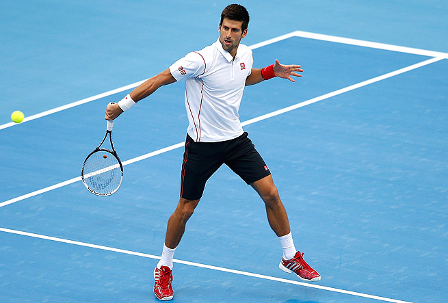 Novak Djokovic rolled over Lukas Rosol 6-0, 6-3, and will face Fernando Verdasco next in Beijing.
