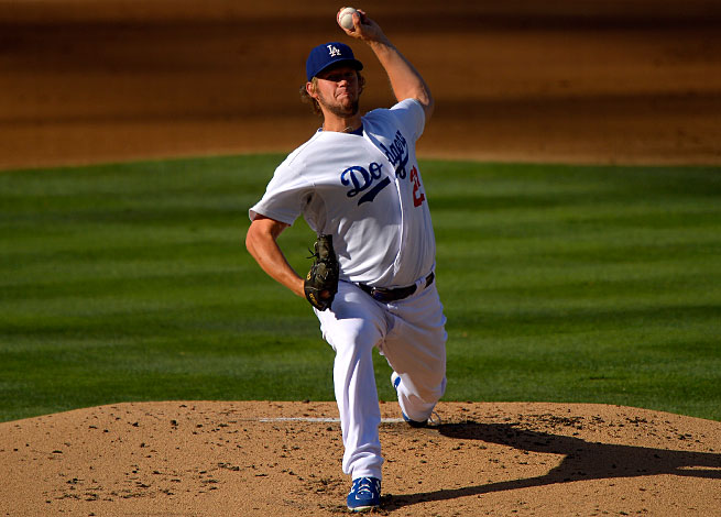 The Dodgers are hoping to ride Clayton Kershaw to their first World Series in 25 years.
