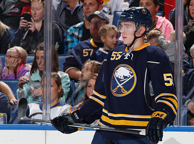 After watching him excel against men in Finland's top league, scouts agreed that Ristolainen was the most NHL-ready player in this year's draft. The big defenseman lived up to the hype, impressing with his mature play in Buffalo's camp. There were nights when he was the best D-man in blue and gold, according to assistant coach Teppo Numminen.